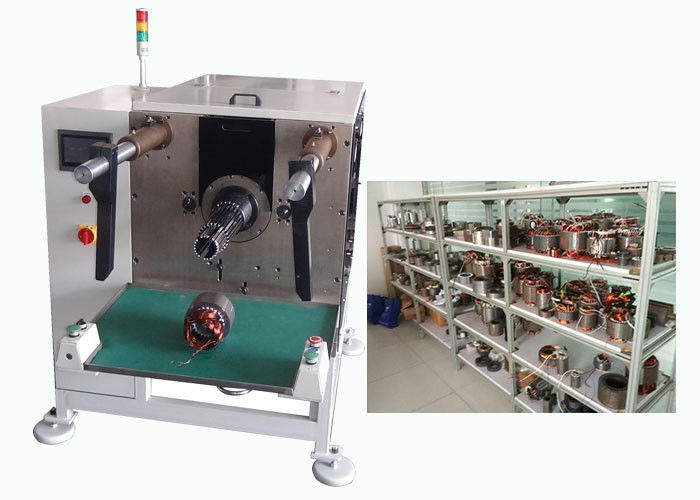 Auto Stator Loop Coil Inserting Machine CU / AL Compatible Wire