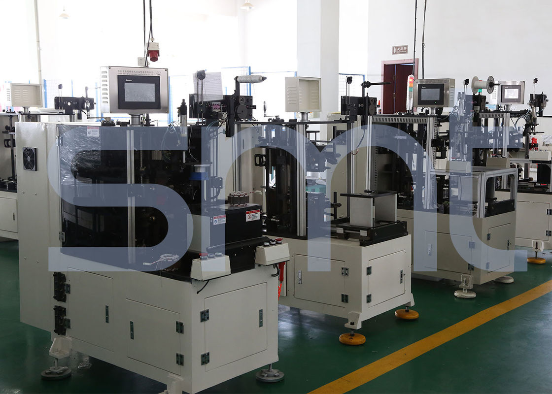 Automatic Stator Lacing Machine Coil Double Sides Motor Production Machine