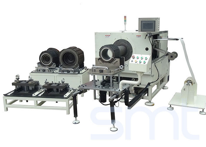 Horizontal Stator Paper Inserting Machine 3 - 10mm Edge Folded Low Noise